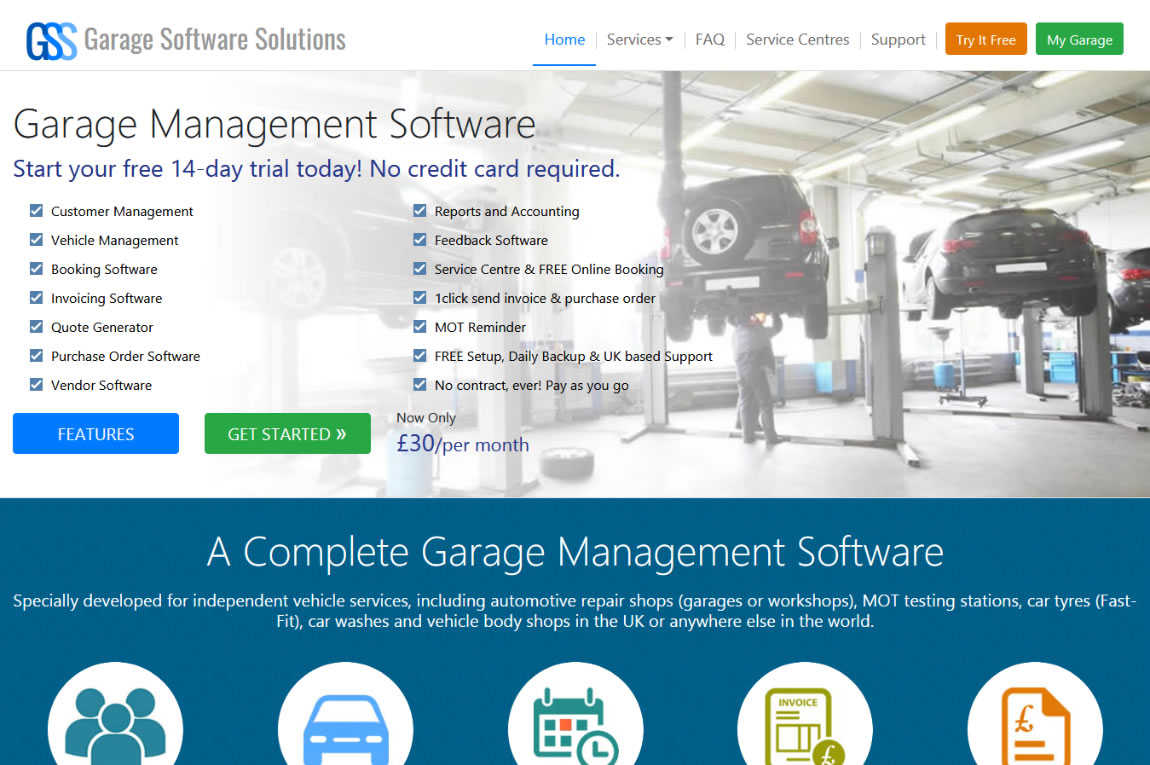 Garage Software Solutions -