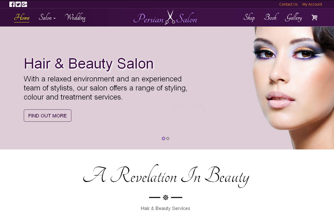 Hair & Beauty Salon -