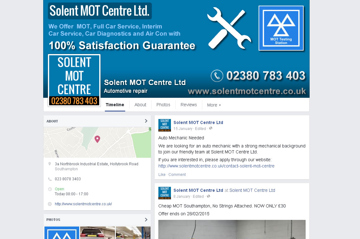 Solent MOT Centre -