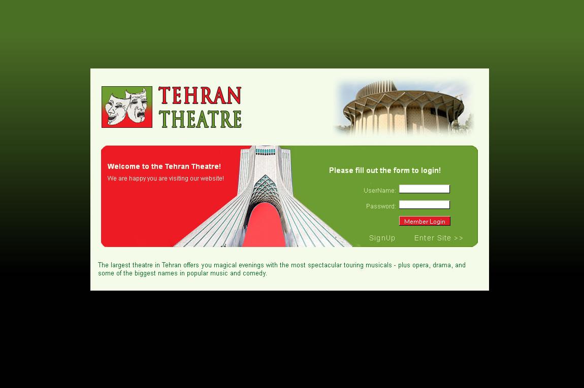 Tehran Theatre -